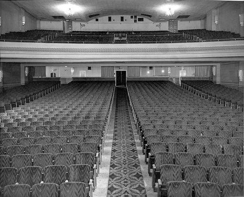Interior of the Capitol Theatre, Edmonton